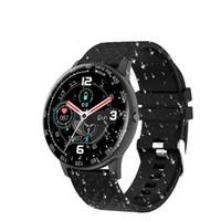 H30 Смарт Часы Мужчины Женщины DIY циферблат Полный сенсорный Фитнес Tracker сердечного ритма артериального давления смарт-часы IP68 водонепроницаемый часы