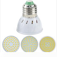 GU10 LED E27 램프 E14 스포트 라이트 전구 (48) (60) 80leds lampara의 GU10의 bombillas는 MR16 GU5.3 Lampada 스팟 라이트 B22를했다.