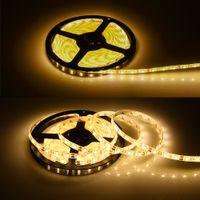 Alçak gerilim Şerit LED Işık 5050 60 Boncuk / m 12v Epoksi Su geçirmez Işık Armatür