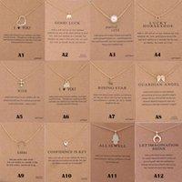 Nouvelle arrivée Designer Collier Charm Multi-styles collier pendentif de carte pour les femmes Fashion Designer Earing Cadeaux Bijoux