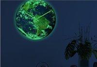 2020 горячей продажа украшений настенных часы свет семь континентов часы Акриловый материал бесшумного движение декоративной стена с