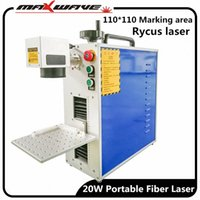 ضمان 3 سنوات JPT RAYCUS IPG 20W 30W 50W اللون البسيطة الألياف الليزر المحمولة آلة وسم wawH #