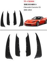 Pour Chevrolet Corvette C6 2005-2013 voiture boue Rabats Splash Dirt Fender Guards Garde-boue
