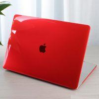Macbook Hava Pro 11 12 13 15 inç Kılıflar Kristal Temizle Sert Plastik Parlak Tam Vücut Laptop Kılıfı Kabuk Kapak A1392 A1402 A1708 A1398