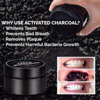 Уплотнение для отбеливания зубов природа бамбуковая активированный уголь улыбка порошок дезактивации зуба желтый цвет бамбуковая зубная паста DHL