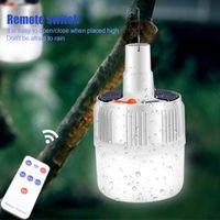 Портативные фонарики аккумуляторные светодиодные лампы лампы солнечный заряд аварийного ночного рынка легкий открытый кемпинг 5model висит нами вилка