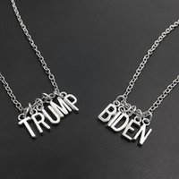 لوازم ترامب قلادة سيليكون الاسوره بايدن قلادة جعل أميركا العظمى الرئيس مرة أخرى المعادن عزم الدوران 2020 الحزب الانتخابات الامريكية IIA317