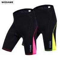 de WOSAWE Mulheres Ciclismo Shorts Gel acolchoado Biking da bicicleta Curto Pant Quick Dry Ciclismo Verão Spandex Shorts S-XL