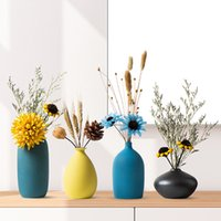 Nordic Small Vase Decoration Modern Grind Ceramic Vases Tabl...