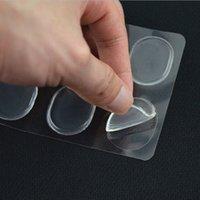 Plantillas barato 6 PC / Hoja de mujeres regalos de gel de silicona plantilla del zapato inserciones del amortiguador del cojín del talón apretones Liner