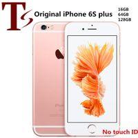Remodelado o iphone 6s de Apple Plus 5.5 polegadas sem toque ID iOS A9 16/32/64 / 128GB ROM 12MP desbloqueado celular