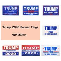Trump 2020 Banner Bandiere 90 * 150cm Donald Trump Conservare rendere l'America Grande Flag 7 Stili Trump Party banner 60pcs Bandiere CCA12308