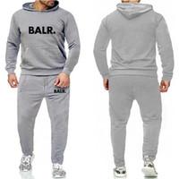 Moda Running Mens Designer Balr Tracksuits Sportswear Terno Men's Hoodie Men's Casual Alta Qualidade Jaqueta 20s Mulheres Duas Peças S-3XL