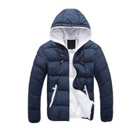 2020 Winter Jacket Men Thickening Casual Coon For Teens Hood...