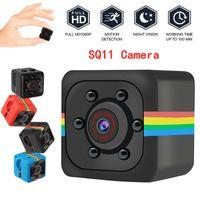SQ11 Full HD 1080P مصغرة كاميرا للرؤية الليلية كاميرا الفيديو المحمولة مايكرو الرياضة كاميرات الفيديو مسجل فيديو DV (لا تشمل بطاقة TF)