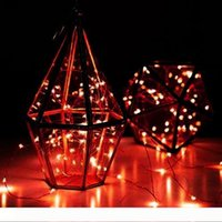 3M 30LEDs con pilas de la secuencia del LED Mini LED Tira Hilo de alambre de cobre de luz de Navidad Fiesta de Navidad la decoración del hogar Luz