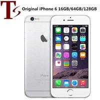 100% iPhone da Apple Original 6 Com toque ID 16GB / 64GB / 128GB 4,7 polegadas A8 dual core IOS 12 Recuperado Desbloqueado Mobile Phone