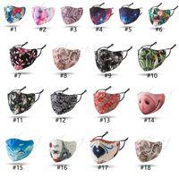 Mode Waschbar Maske Anti Staub Gesichts PM2.5 Respirator Staubdichtes Wiederverwendbare Ice Silk Cotton Einstellbare Ohr Schnalle Breath Masken Adult Neu