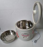 3L Midea cuiseurs à riz électrique YJ308J acier inoxydable antiadhésif pot intérieur bricolage Leben cookwere + Conversion plug Durable économiser de l'argent