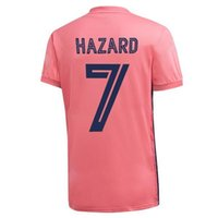 20-21 7 Hazard Thai Quality Soccer Jerseys Shirts مخصصة 7 11 Bale 22 ISCO 4 Sergio Ramos 9 Benzema 26 Tomás 21 Lyalory