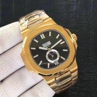 Los nautilus.Series de gama alta relojes de los hombres mecánicos de la serie 5726 de deportes, 3A calidad automática relojes, sol, luna y las estrellas de los hombres