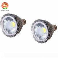 لمبة LED عكس PAR38 PAR30 PAR20 85-265V 10W 20W 25W E27 قدم المساواة 20 30 38 LED بقعة إضاءة مصباح النازل ضوء