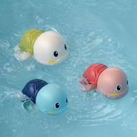 حار بيع مضحك طفل الاستحمام اللعب في الماء لطيف ليتل سلحفاة سلحفاة كارتون السلاحف البرتقالة الرياح سباحة لعبة حمام اللعب دي إتش إل الحرة