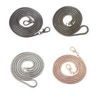 Parts & Accessories THINKTHENDO 120cm Cross Body Handbag Shoulder Bag Chain Strap Replacement Bag Accessories