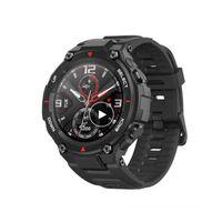 Global Black AmazFIT CES T-REX SmartWatch التحكم موسيقى 5ATM الذكية ووتش GPS / GLONASS 20 أيام بطارية عمر البطارية MIL-STD SmartWatches لالروبوت