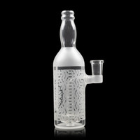New 7inch White Water Bubbler Bong 14mm Female Thick Bottle ...