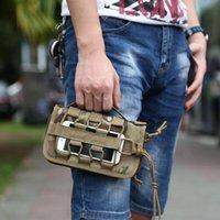 Tactical Wallet Holder Esterni Pouch Holster Card Key ID sacchetto di mano di carta di credito