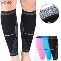 WOYYHO 1 PC Sports Caneleira, Basquetebol Futebol Socks, executando Professional Shields Legging Caneleiras mangas Equipamentos de Proteção