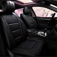 Universal Fit Car Seat Covers For Honda Lexus Nissan MINI Volvo Kia Hyundai Durable PU Leather For Five Seats SUV Without handrails Truck 02