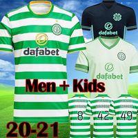 2020 2021 Jerseys de futebol celta 20 21 McGregor Griffiths Sinclair Forrest Brown Rogic Christie Home Terceiro Futebol Camisa Men Kids Kit