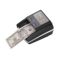 المحمولة الصغيرة البنكنوت بيل كاشف فئة القيمة مكافحة uv mg ir dd dd catector cencodection آلة اختبار النقود العملة