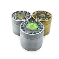 Amsterdam Olanda erbe Grinder Tabacco Spice Cracker 3/4 Livelli in lega di zinco metallo smerigliatrice 40 millimetri Forma Maple Leaf