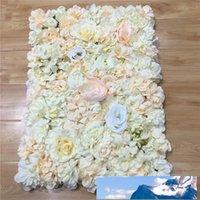 Nouveau type tapis Hydrangea décoration murale bricolage mariage Setting route a conduit la décoration T scène fleur pourpre arrière-plan Photo