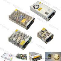 조명 변압기 스위치 드라이버 출력 DC24V 240W 360W 500W 110-240V 알루미늄 액세서리 LED 스트립 조명 모듈 DHL