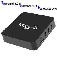안드로이드 TV 박스 1기가바이트 8기가바이트 MXQ 프로 Allwinner H3 안드로이드 N 베타 빌드 쿼드 코어 100M 랜 2.4G 5G 듀얼 밴드 와이파이 4K VP9 HDR10