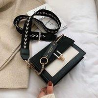 2020 neue Mini-Handtaschen Frauen Art und Weise in ultra feuer retro breite Schultergurt Umhängetasche Geldbeutel einfache Art Umhängetaschen