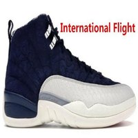 12 neue Flügel 3M Refective Männer Basketball-Schuhe Jumpman Sneakers Hot 12s Basketball-Trainer mit dem Kasten US8-13