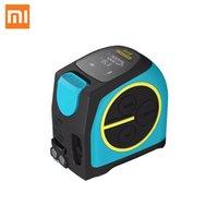 XIAOMI MULLEEY DT10 شريط قياس ليزر 2 في 1 قياس الليزر الرقمي Rangefinder مع شاشة LCD الرقمية هوك المغناطيسي
