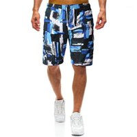 Длина колена шорты Мужской одежды Mens 2020 Роскошные дизайнерские Короткие штаны Летний спорт-Бич Quick Dry Сыпучие