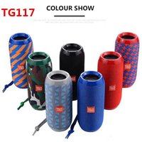 TG117 Bluetooth Speakers Portable Speaker Double Horn 1200mA...