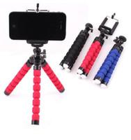 مرن الأخطبوط ترايبود حامل الهاتف selfie عصا العالمي حامل قوس للهاتف الخليوي أو سيارة كاميرا selfie monopod