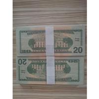 Banconota USA America false banconote da 20 dollari Banconote Collezione di carta moneta per la decorazione della casa Banconote regalo Funzionalità false 005