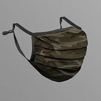 6 Colors In Stock Camouflage Face Mask Fashion Breathable Du...