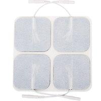 Freeship 8 Pack Elettrodo Pad Riutilizzabile TENS TASSAD TRATTAGGIO PADS MASSAGGIO WIRD per MagicFly TENS EMS Pulse Digital Massager