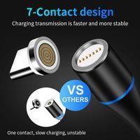 Cables USB Tipo de imán-C Micro Fast Nylon magnética Cable USB para Samsung Huawei rápida para todo el teléfono móvil rápidamente de carga mejor precio