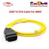 Para F-series ESYS ENET OBD OBD2 Codificação de dados carro diagnóstico cabo ESYS para ICOM Dados ESYS Codificação Invisível Ferramenta ENET